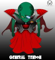 GENERAL TENDON by ERIC-ARTS-inc