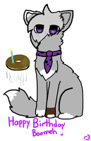 ~ Happy Birthday Boomeh ~ by witcher-fox