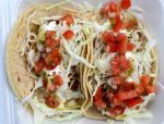 Fish Tacos Close up by NickBentonArt