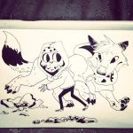 Halloween Buds by Clairictures