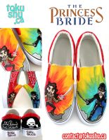 Princess Bride Shoes by artsyfartsyness