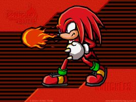 Knuckles - Sonic Battle by aha-mccoy