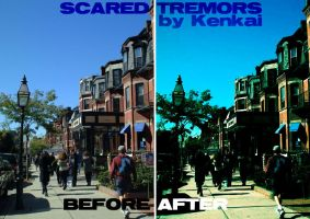 Scared Tremors by kenkai