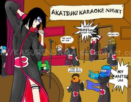 Naruto - Karaoke Night by KasurinSama