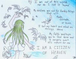 redid i am a citizen of heaven by viahunter