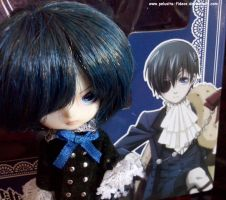 Ciel with his anime version! by Pelusita-Fideos