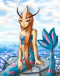 Milotic - Gijinka morph by YonYonYon