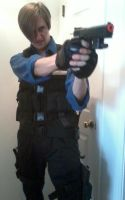 Leon's Second Outfit #2 - RE6 (Work in Progress) by AirPirateCid
