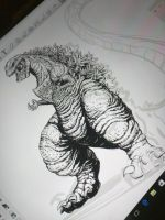 Shin'Gojira ( new profile wip) by Gabe-TKE