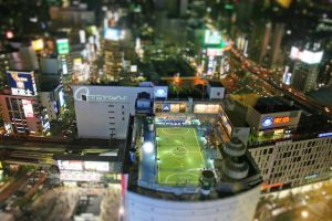 Tokyo Rooftop - (Miniature blur effect) by TheBase9Wario