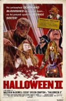 Rob Zombie's Halloween II Poster Contest Winner by themadbutcher