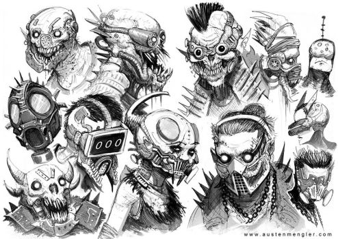 EXECUTION - HEADS 01 by AustenMengler