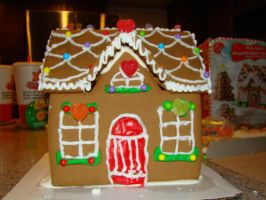 Gingerbread House by stephuhnoids