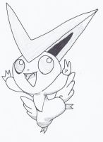 Victini by NINJAWERETIGER