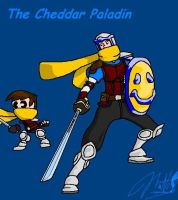 Cheddar Paladin With Smiley by cheddarpaladin