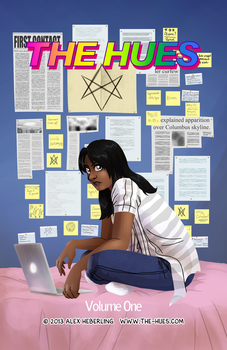 The Hues Chapter One Cover by alex-heberling