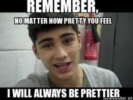 Zayn Will Always Be Prettier Lol by onedirectionislife