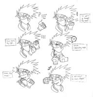 How does Kakashi eat part 1 by firnantowen