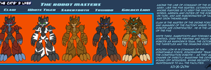 The Cat's 9 Lives! - The Robots Masters by TheCiemgeCorner
