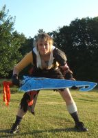 Tidus Battle Pose by Otaku4evr