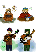 South Park- Gamers by Shillbo