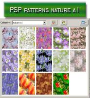 psp patterns nature a1 by feniksas4