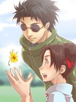 Shino and Tenten by otogiyougi