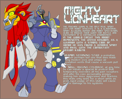 Mighty Lionheart by Tyrranux