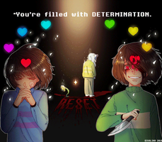 YOU'RE FILLED WITH DETERMINATION :)) by Divalina