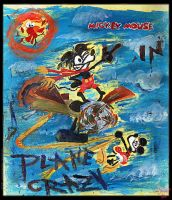 Mickey Mouse in PLANE CRAZY by tOkKa