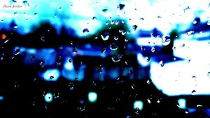 Rain Abstract by ZombieChickxxx