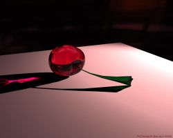 Glass Cherry by Icetigris