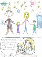 Dr. Who- Children and Art by SuperherogirlCat