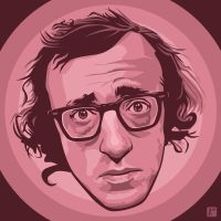 Woody Allen by monsteroftheid