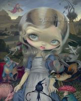 Alice in a Bosch Wonderland by jasminetoad