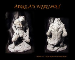 Angela's Werewolf 1st views by Meadowknight