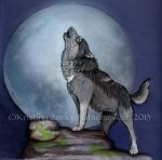 Kira the Wolfdog by NatsumeWolf