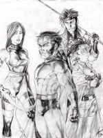 X-MEN 90s Live by EXTronic-AWilson