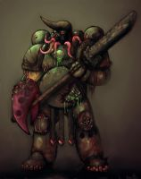 nurgle war lord by johnjackman
