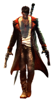 DMC Devil May Cry Dante (Render) by Apexx-iPredator