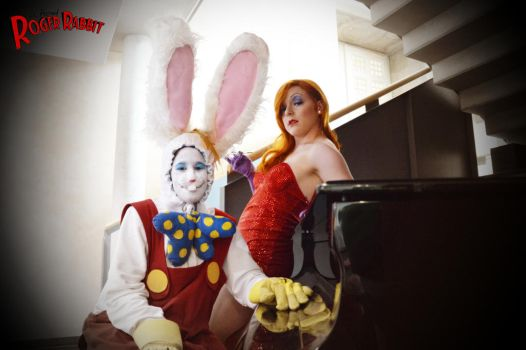 Join Roger and Jessica Rabbit by EmperorSteele92