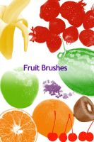 Fruit Photoshop Brushes 1 by colormist