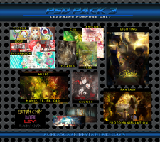 PSD Special Pack 3 by AceraScaxe