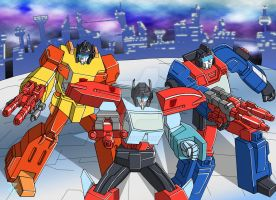 Autobot Targetmasters by JP-V