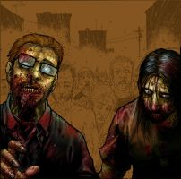 Walking Dead by titaniumgorilla