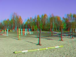 Enclosure 3D Anaglyph by yellowishhaze