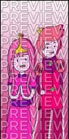 Bookmarks - Adventure Time: Bubblegum/Gumball by agent-ayu