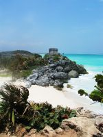 Tulum Temple by kongvmax