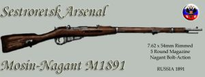 Mosin-Nagant M1891 by SquireJames