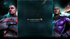 TR / VS - Planetside 2 - YouTube Background by MiniDudeMD